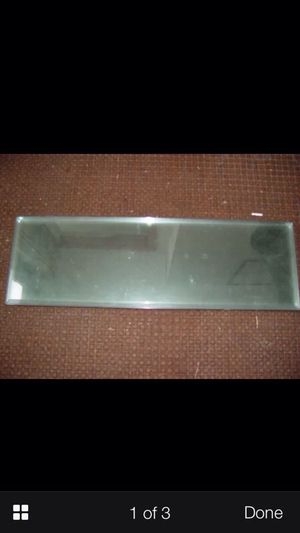 """7 clear 9"""" x 28"""" beveled panels for Sale in Newton, MA"""