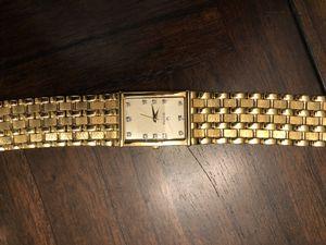 Bulova men's watch cost 375 new have box for Sale in Bradenton, FL