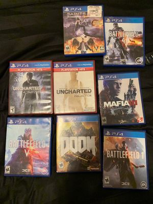 Ps4 games for Sale in Odessa, TX