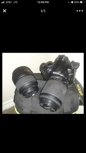 Nikon d5000 for Sale in San Antonio, TX