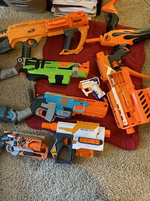 Nerf guns for Sale in Gilroy, CA