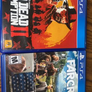 Red Dead Redemption 2 & Far cry 5 for Sale in Fresno, CA