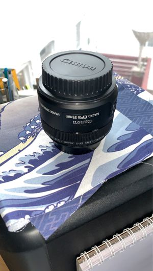 BRAND NEW (unused) CANON EF-S 35 mm f/2.8 MACRO IS STM LENSE for Sale in Washington, DC