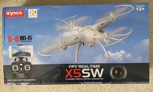 Syma X5SW 4 Channel Remote Control Quadcopter Drone for Sale in Virginia Beach, VA