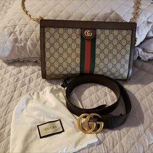 authentic gucci brown belt for Sale in Paso Robles, CA