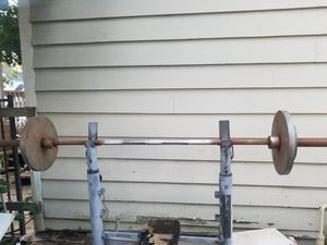 45 pound Olympic bar (no weights included) for Sale in Seattle, WA