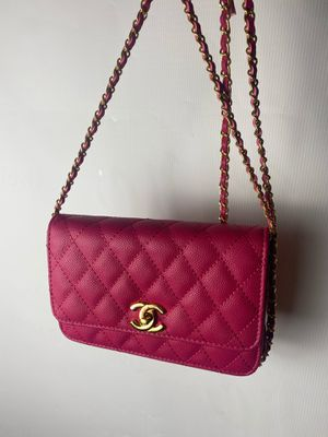 Pink Chanel clutch purse for Sale in Washington, DC
