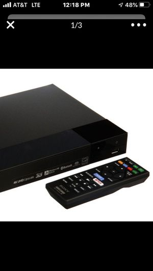 Sony 4K Upscaling 3D Streaming Blu-ray Player - BDPS6700 brand new!! Best priced!!, No lines!!, No tax!!, No COVID-19!! for Sale in Perris, CA
