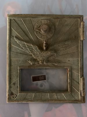 Antique Brass Post Office Box Faceplate for Sale in Tempe, AZ
