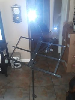 New Kasonic Music Stand With Light And Case for Sale in Las Vegas,  NV