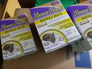 Mouse repellent, repels mice, 4 scent packs for Sale in Brooklyn, NY