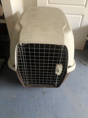 Plastic dog kennel for Sale in Oakland, CA