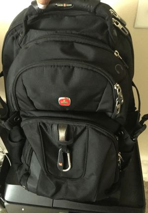 "SwissGear ScanSmart 18.5"" Backpack - Black for Sale in Smyrna, GA"