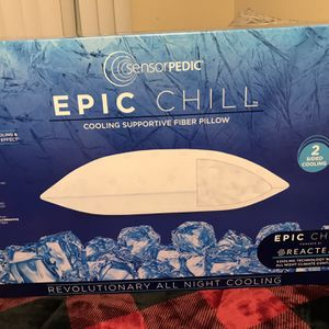 Epic Chill Pillow Regular Price Is 200 Am Selling For 75 for Sale in West Covina, CA