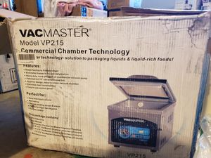 NEW Open Box VacMaster VP215 Chamber Vacuum Sealer Food saver for Sale in Lake Elsinore, CA