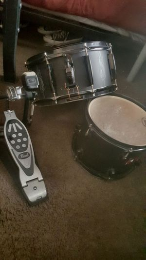 Complete pearl drum set for Sale in Dallas, TX