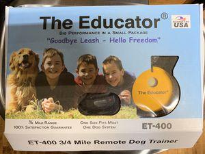 Educator dog shock collar for Sale in Virginia Beach, VA