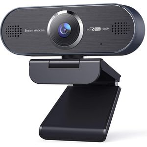 UNZANO 1080P 60FPS HD Webcam with Dual Noise Reduction Microphone, Auto Focus USB Streaming Computer Camera for Desktop/Laptop/PC/Mac, Zoom/Skype/Team for Sale in Santa Ana, CA