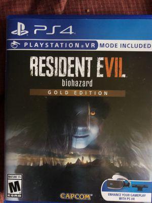 PS4 resident evil biohazard full game for Sale in New York, NY