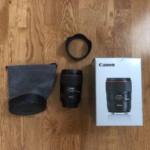 Canon 35mm 1.4 ii for Sale in Woodside, CA