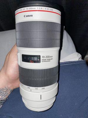 Canon - EF - 70-200mm f/2.8L Mark III for Sale in Santa Ana, CA