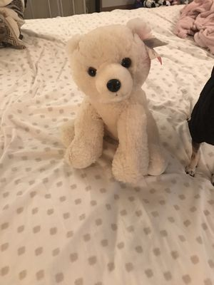 NEW w/tag stuffed polar bear animal for Sale in Marietta, GA