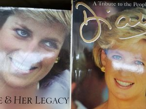 2 Each Princess Dianna Book Pre-Owned for Sale in Baltimore, MD