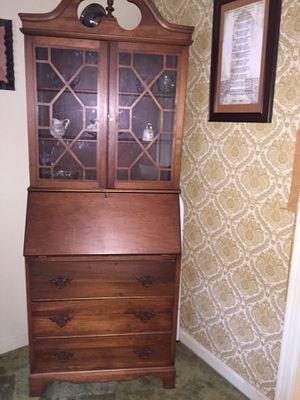 Antique Secretary desk for Sale in S CHESTERFLD, VA