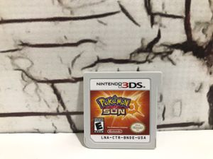 Pokemon Sun Nintendo 3DS for Sale in Denver, CO