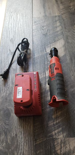 Snap—On 14.4v 1/4Drive MicroLithium Cordless Ratchet kit (like new) for Sale in Claremont, CA