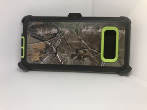 For Samsung Galaxy Note 8 green camo belt clip case for Sale in Redwood City, CA