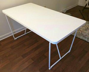 BRAND NEW Ikea Pure White Dining Table Conference Multi-Purpose Desk for Sale in Monterey Park, CA