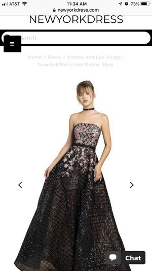 Andrea and leo special occasions dress for Sale in Chantilly, VA