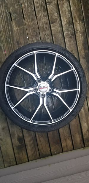 One 18 inch wheel with tire 225/40/18 for Sale in Everett, WA