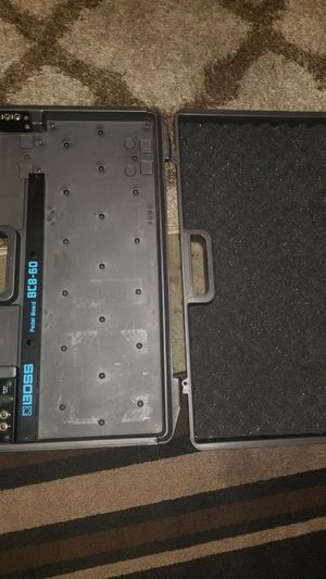Boss BCB 60 Pedalboard Case with EBS DPhaser and Metaldrive for Sale in Whittier, CA