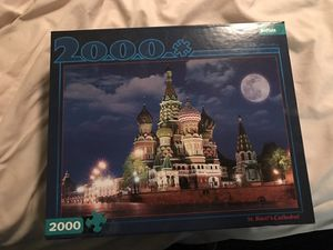 Buffalo games 2000 piece puzzle all pieces present. for Sale in Denver, CO
