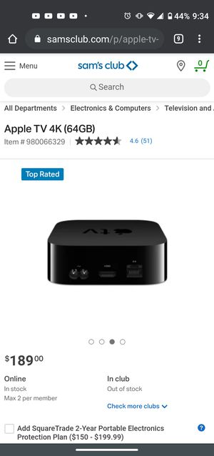 Apple 4k box for Sale in Temple Hills, MD