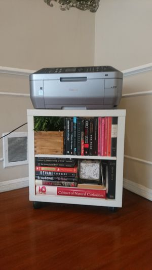 IKEA Portable Box Shelving Unit (Rolling) for Sale in Los Angeles, CA