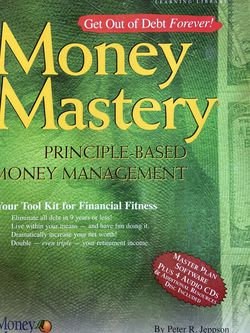 Money Mastery Principle Based Money Management Software And Audio CD'S for Sale in Citrus Heights,  CA