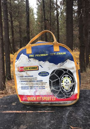 Brand new Les schwab snow chains for Sale in Bend, OR