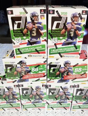 2020 Donruss Football Holiday Blaster boxes for Sale in Corona, CA