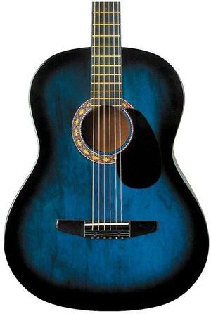RogueStarter Acoustic GuitarBlue Burst for Sale in Clifton, NJ