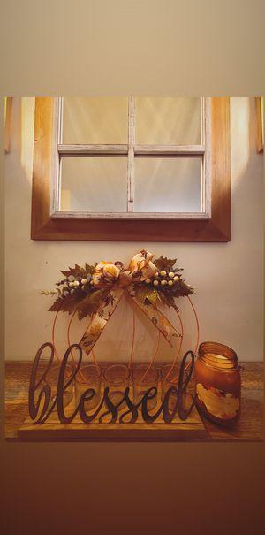 Pumpkin Door Hanger for Sale in New Haven, CT