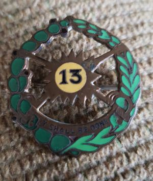 Old Vintage 13th Cavalry / Armor Unit Pin for Sale in Arvada, CO