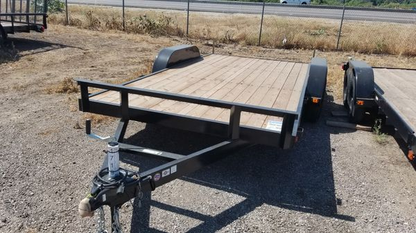 16ft. 2020 Carry On Utility Trailer