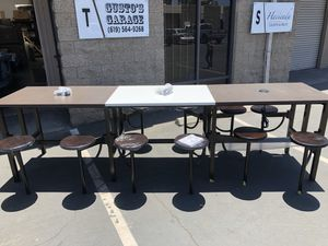 Brand new 12 seater Endure Standing Height Table. Business office school study media furniture general for Sale in National City, CA