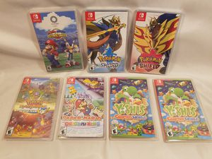 Nintendo Switch Games - New Sealed for Sale in Elk Grove, CA