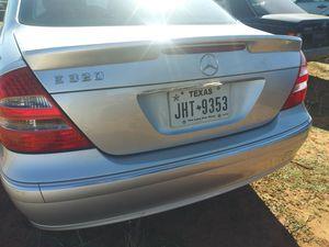2003-2007 E class silver rear bumper $200 for Sale in Von Ormy, TX
