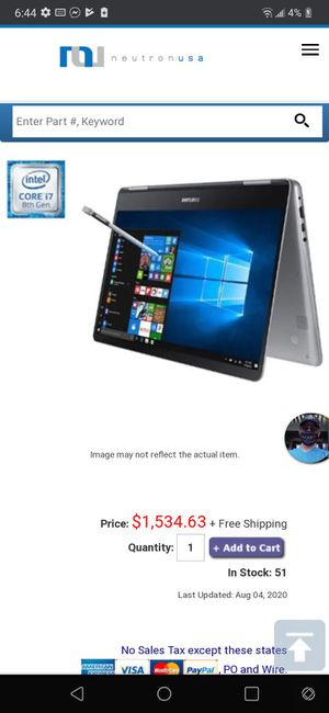 Samsung pro 9 for Sale in Scottsdale, AZ