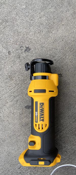 Dewalt DSC551b 20v drywall cutout tool (Tool only) (((NEW))) $80 firm for Sale in Houston, TX